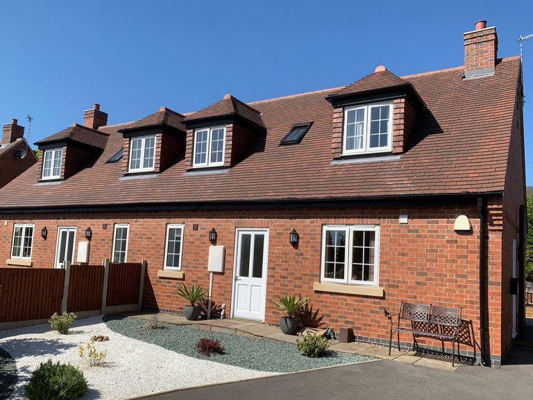 Conversion of 4 new dormer bungalows & renovation of the old nursery