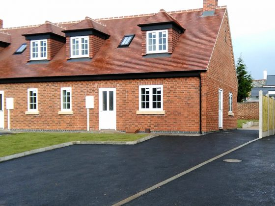 Devonshire Drive - Conversion of 4 new dormer bungalows & renovation of the old nursery