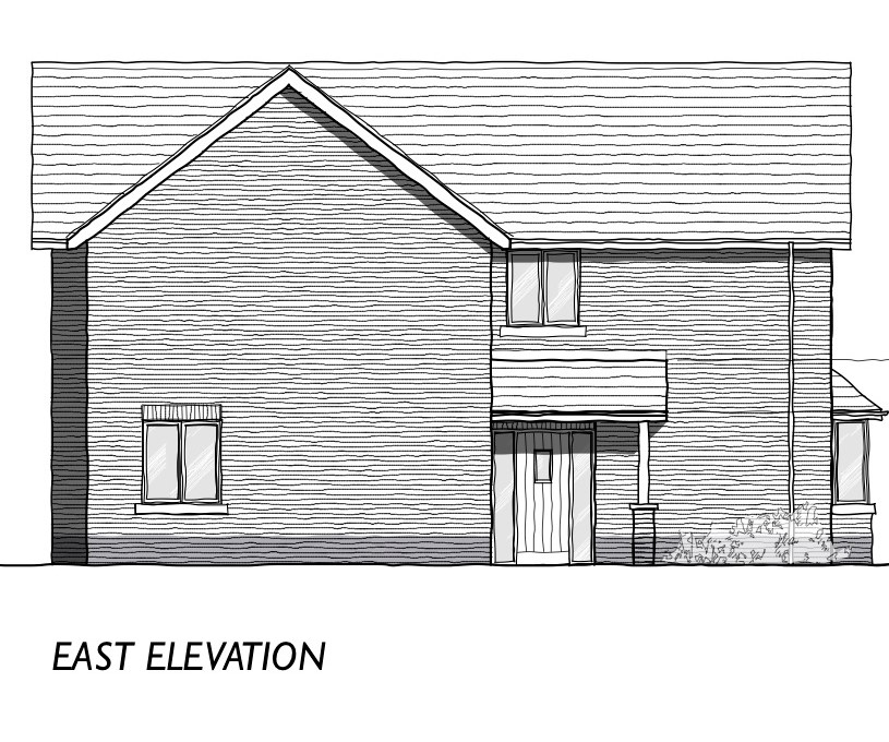 Dovecote Road elevation