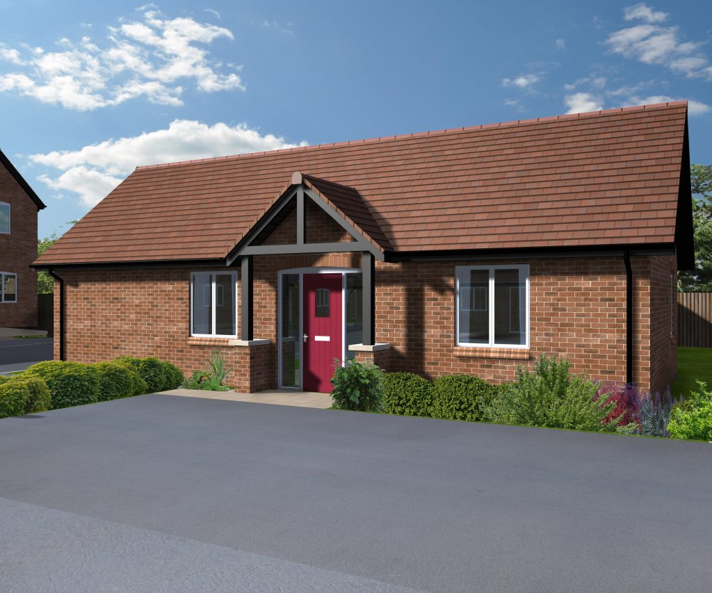 80 Dovecote Road - 2 Bedroom Bungalows