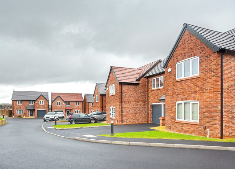 development of 9 new build 2,3 & 4 bedroom homes on Dovecote Road in Eastwood is now completed.
